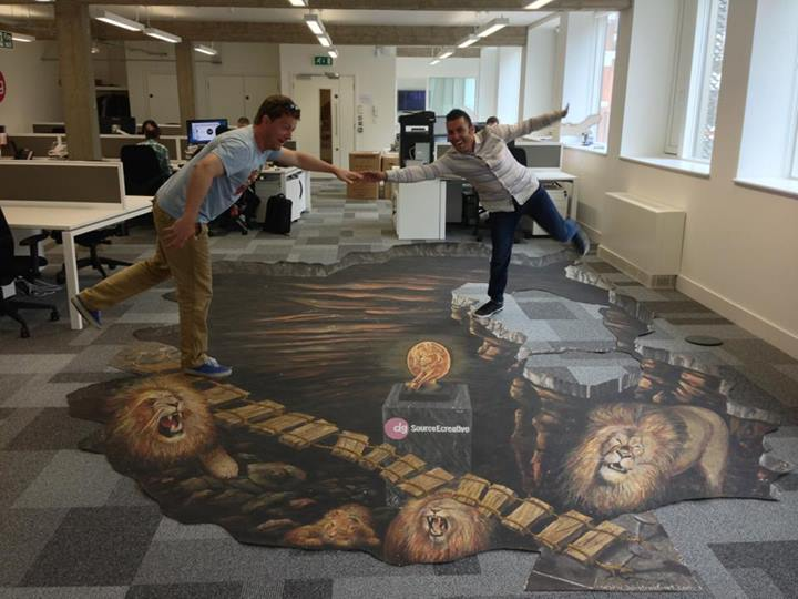 New Home for Cannes Lions 3D Painting