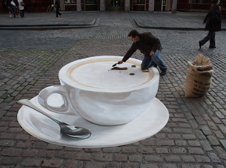 3d street painting costa for My garden 3d