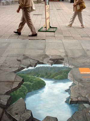 Street painting for Orange in Rotterdam