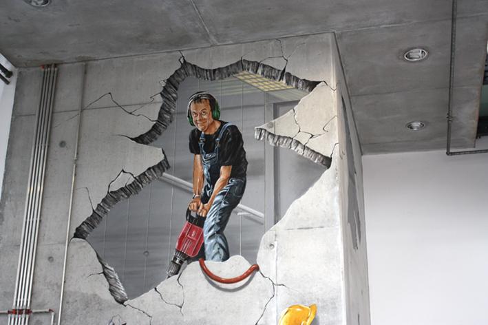 3d Mural Frankfurt