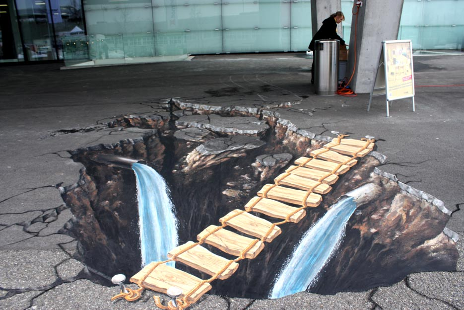 3d pavement painting bern for How to paint 3d