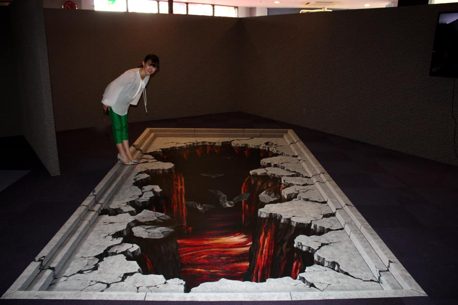 3d Street Paintings Floorsticker And Billboards