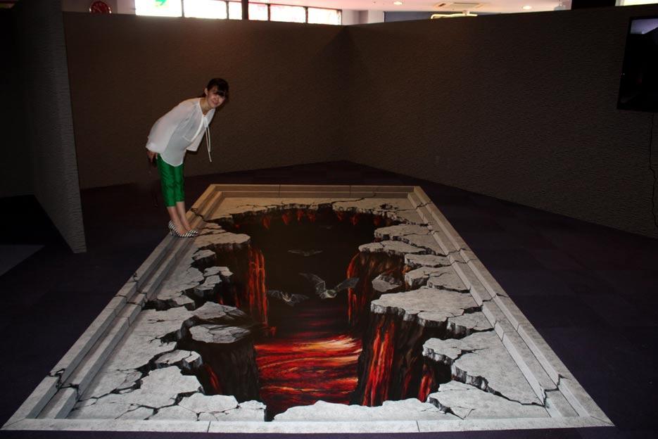 D Street Paintings Floorsticker And Billboards - 3d acrylic floors