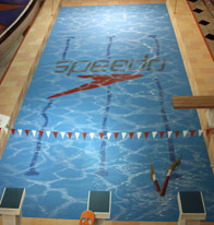 3D illusion of a swimming pool