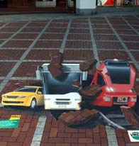 3d-street-art-urban traffic